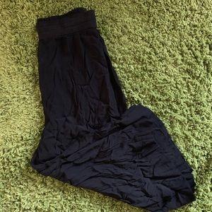 Madewell Huston Pull-On Crop Pants M